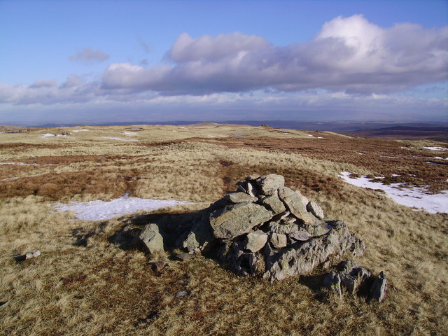 Summit Cairn, Tarn Crag