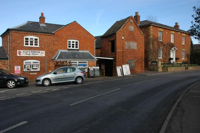 Village butchers, Mickleton