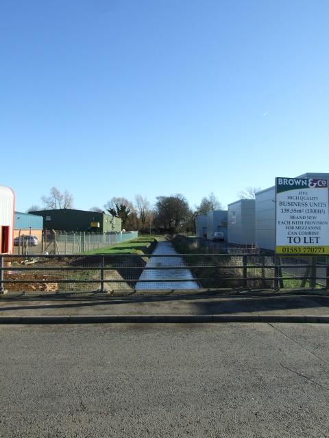 Pumping station waterway