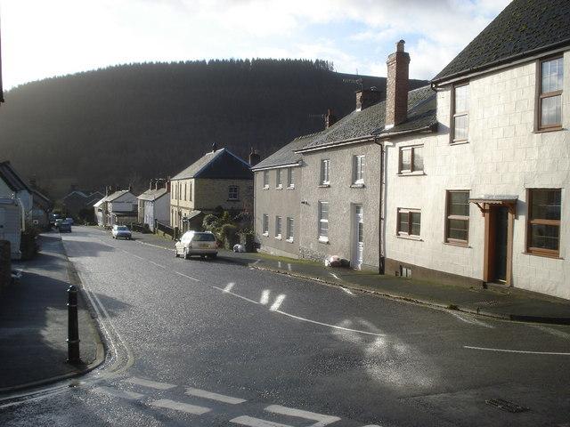 Main street at New Radnor