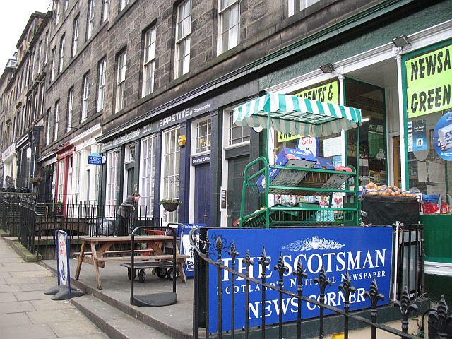 Shops, Howe Street