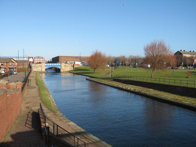 Boundary Street Bridge, Leeds-Liverpool Canal