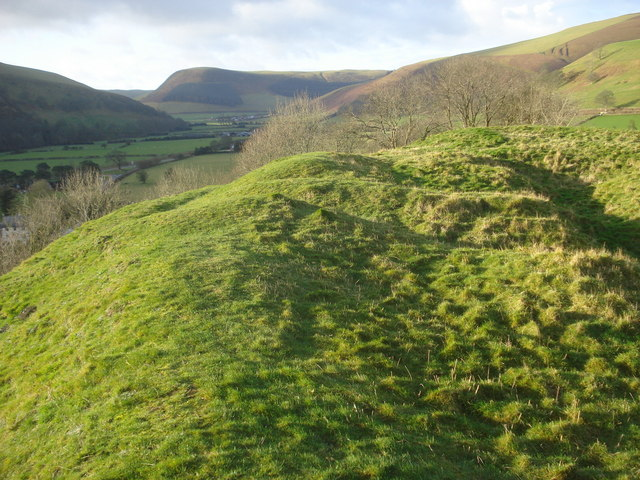 New Radnor Castle earthworks