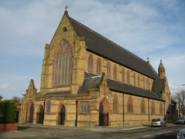 St John the Evangelist, Fountain Road, Kirkdale