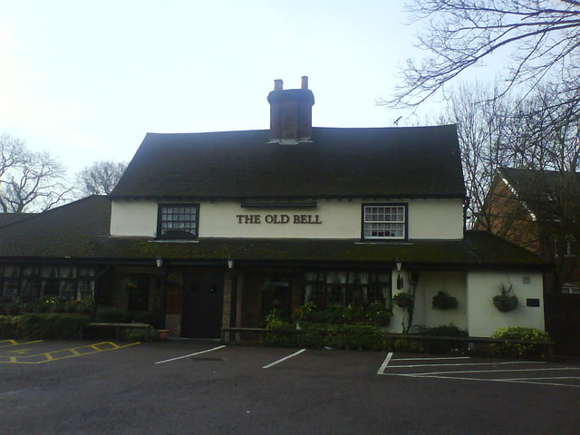 Old Bell  Pub/ Restaurant  Luton Road