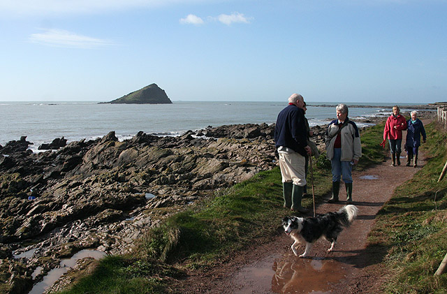 Wembury: on the South West Coast Path