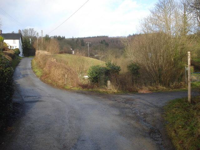 Mutton Dingle junction