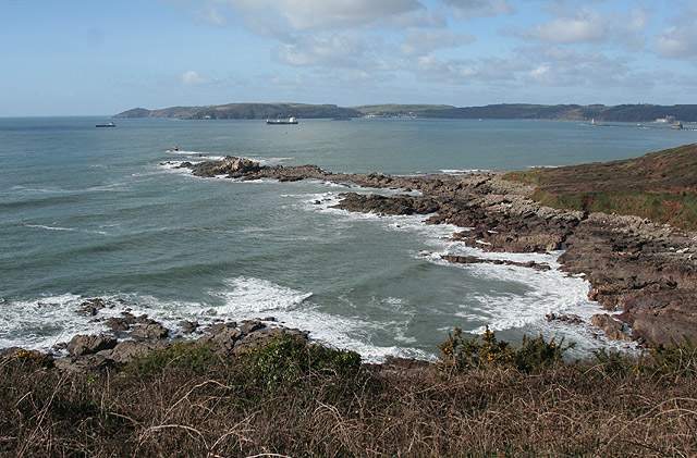 Wembury: towards Plymouth Sound