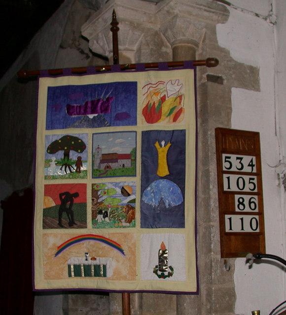 Rampton Parish Church Millennium Banner