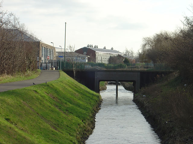 River Leen at Lenton