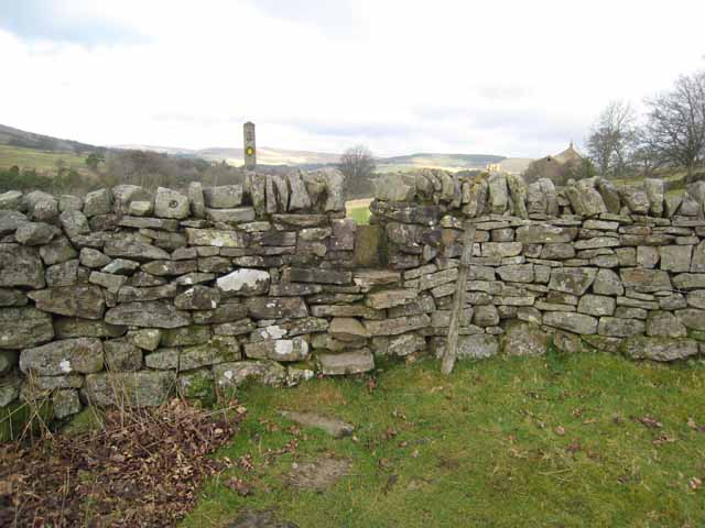 Stile on the Pennine Way