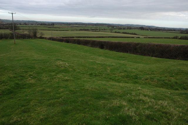 Farmland near Lower Quinton