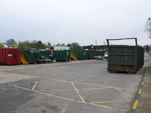 Dorchester Domestic Refuse Recycling site