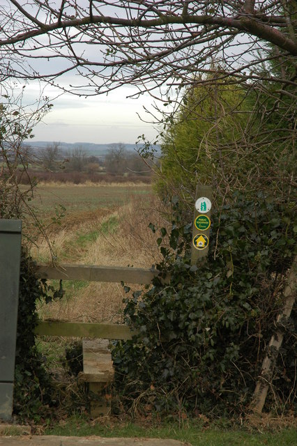 Footpath to Upper Quinton