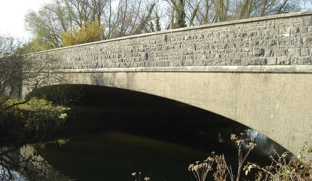 Wool, the New Bridge over the River Frome