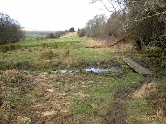 Field on the Pennine Way
