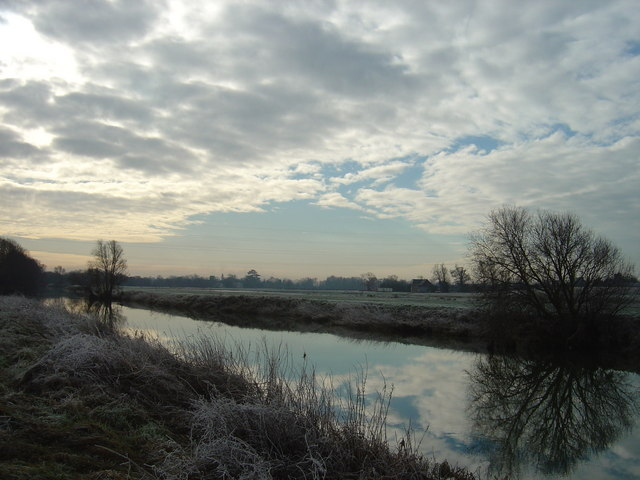 River Ouse  South of Bromham looking towards Kempston