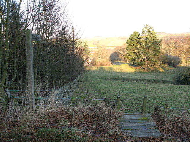 Footpath to Thornley Gate
