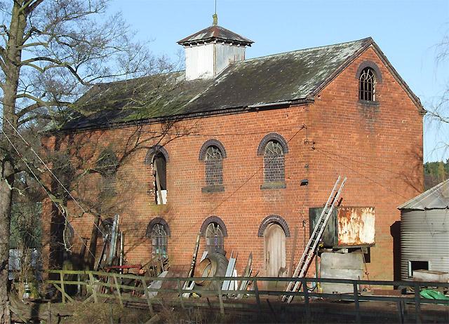 Spittlebrook Mill near Enville, Staffordshire