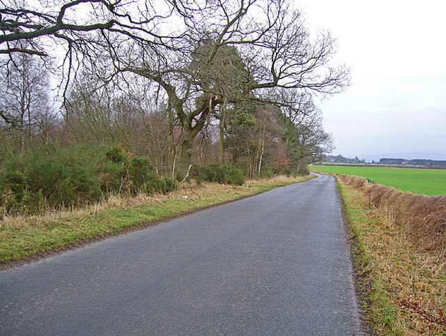 Country road near Westhill