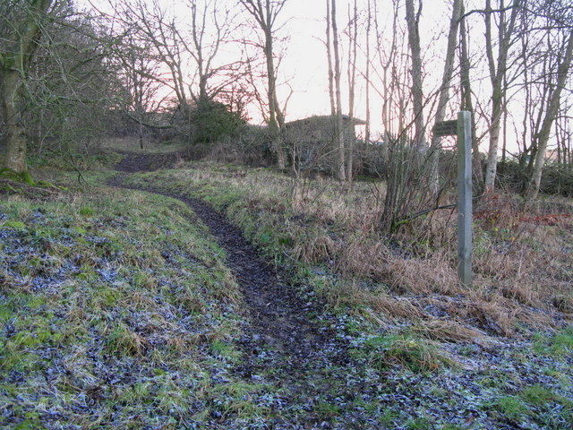 Footpath to High Oustley and Cleugh Head