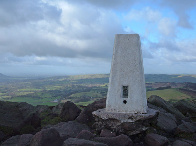 The Roaches Trig Pillar