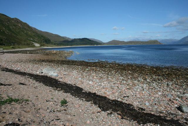 Loch Linnhe from Rubha nan Sornagan