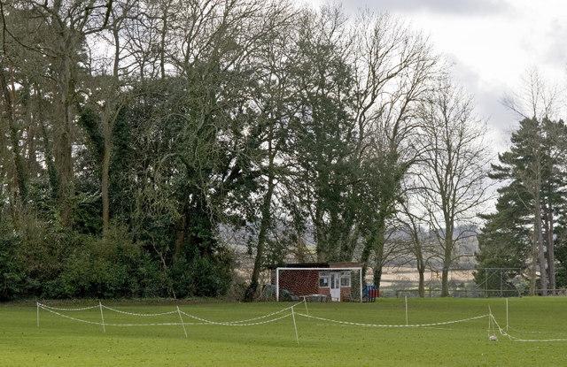 Perrott Hill School cricket field