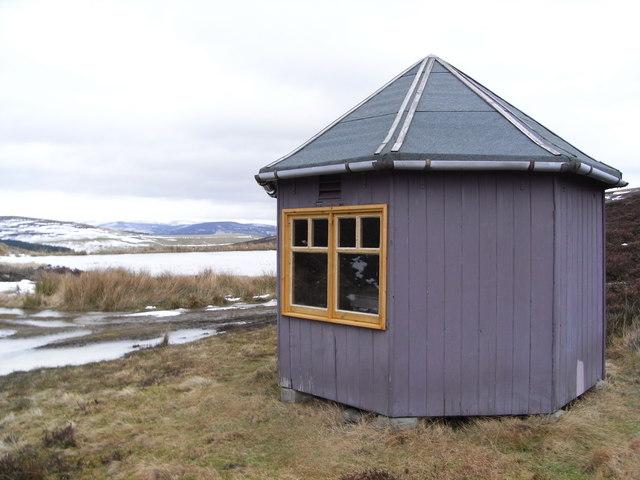 Fishing hut at Lazy Well