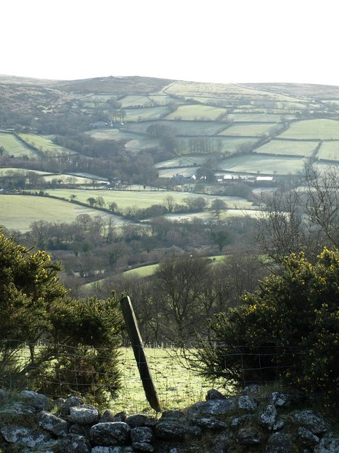 East Webburn valley from Dunstone Down