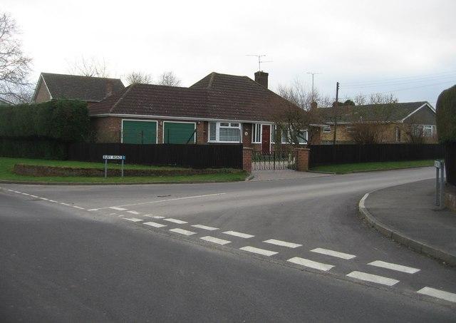 Entrance to Bury Road
