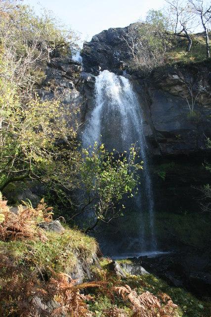 """""""Tennysons"""" waterfall near Loch Aline"""