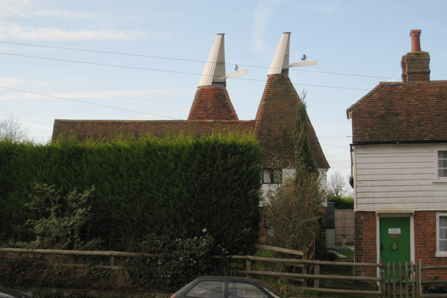 Oast House at Tower Cottage, Upper Street, Leeds, Kent