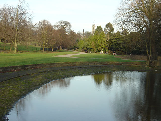 The Paddling Pool, Highfields Park