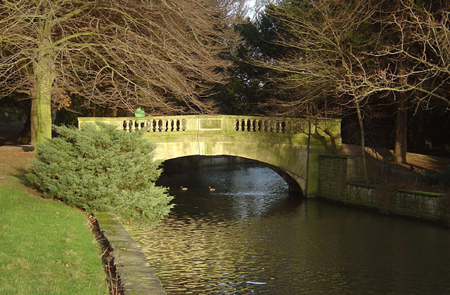 Bridge in Highfields Park