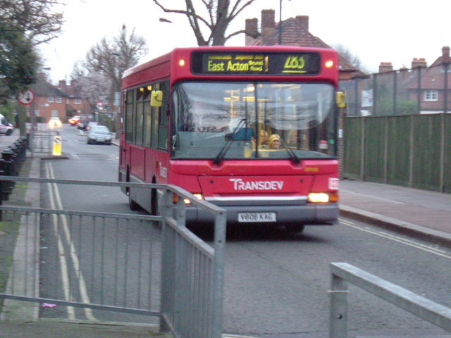 Route 283 - London Bus, Bryony Road