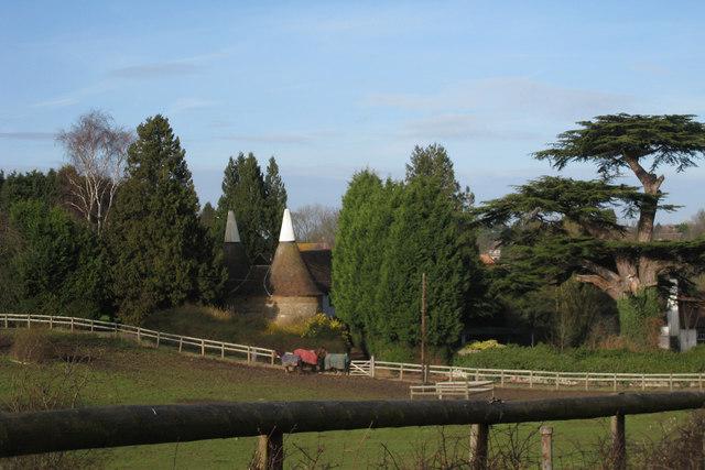 Amberidge Oast, Salts Lane, Loose, Kent