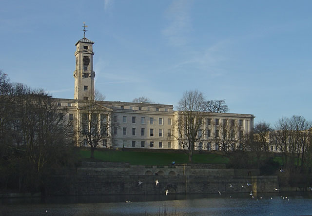 Highfields Park and Trent Building