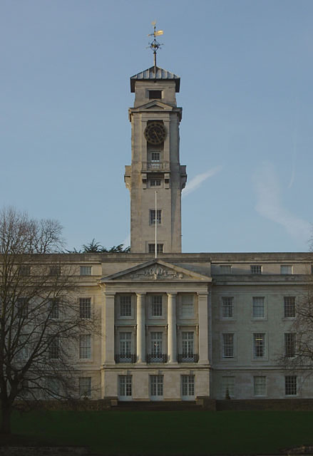 Trent Building, Portico and tower