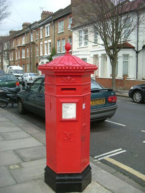 Victorian Post Box - Tunis Road, W12