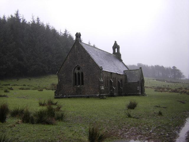 """Littledale """"deserted""""church"""