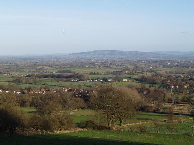 View looking towards Bredon