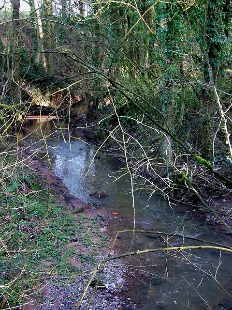 Spittle Brook, south of Greensforge, Staffordshire