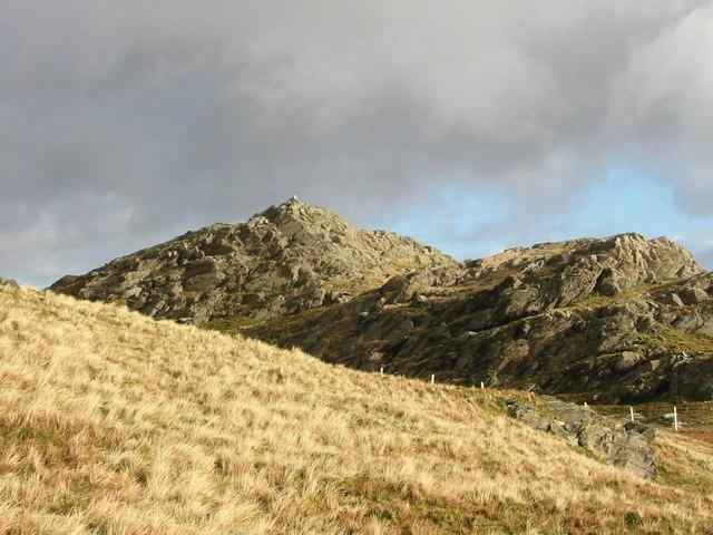 Summit Rocks, Ysgafell Wen