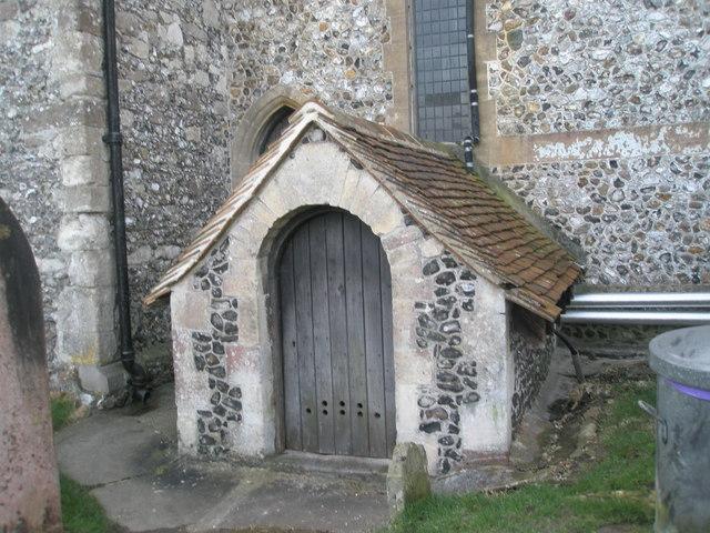 Curious structure at Warblington Church