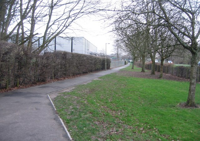 Footpath to the Leisure Park