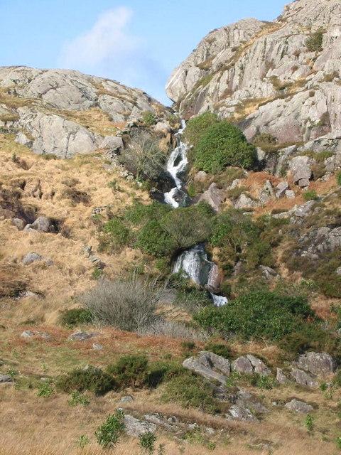 Waterfall on Afon Goch