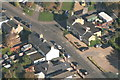 TL4064 : Aerial view of Longstanton Road, Oakington by Pauline A Marsh