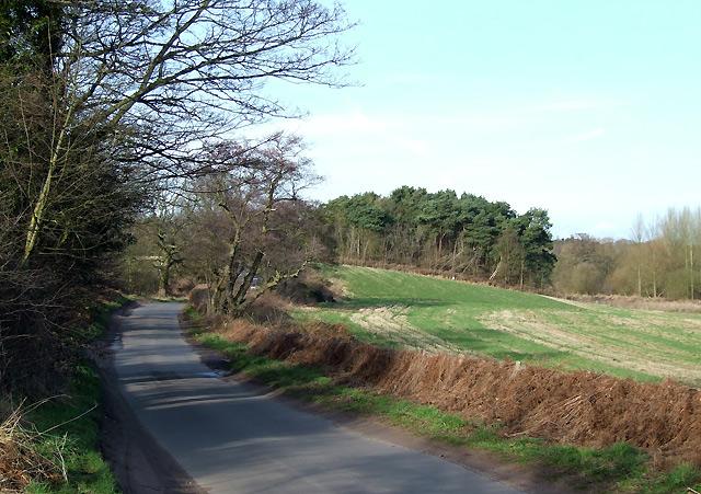Greensforge Lane, near Ashwood, Staffordshire