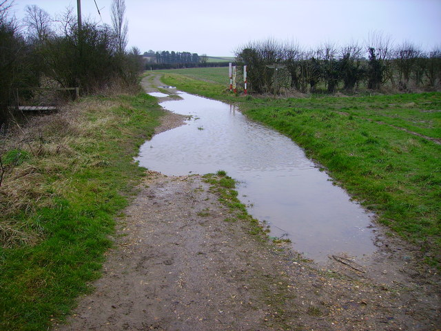 Barton Stacey - Flooded Track